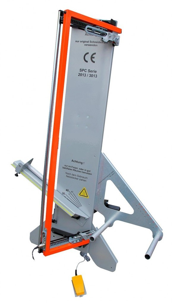 Hot wire polystyrene cutter SPC Series! | The professional ...