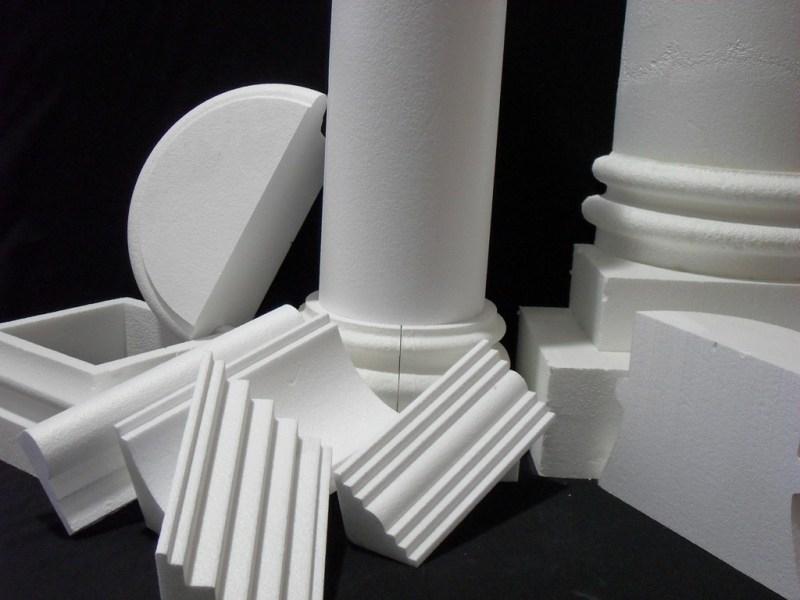 Styrox 3D CNC leikkurin - Arkkitehtonisia elementtejä.
