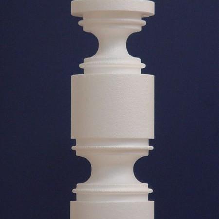 Styrox 3D CNC leikkurin - Pylväät