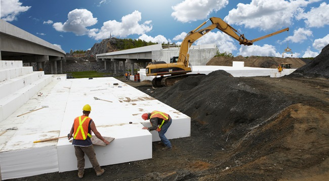 What is polystyrene foam different uses of polystyrene for Foam block wall construction