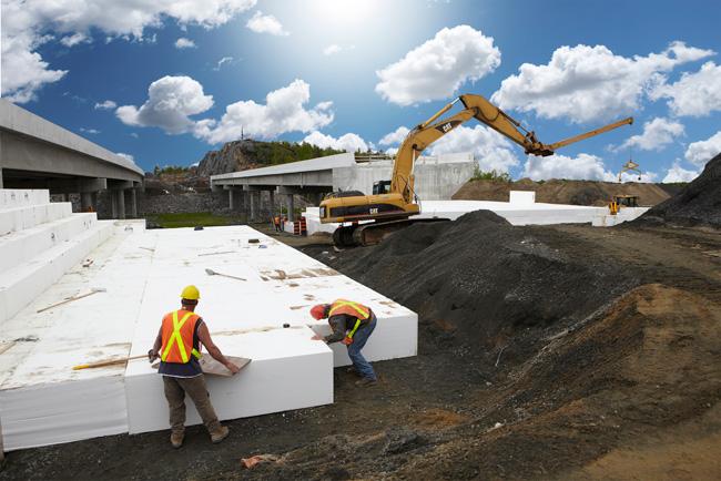 EPS kasutamine - Ehitus sektor