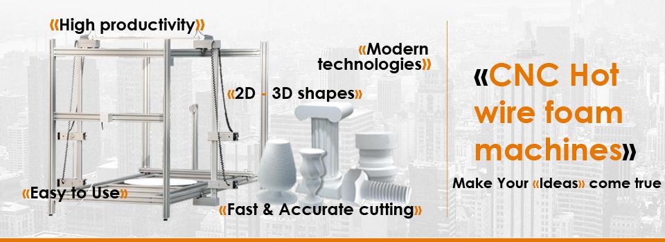 Foam Cutters And Cnc 3d Foam Cutting Machines Unique Equipment